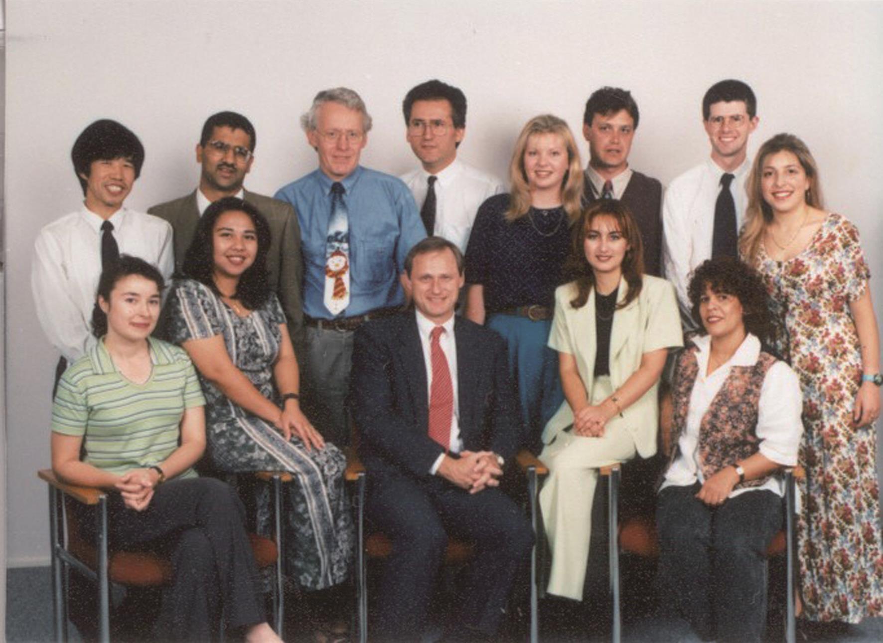 Nicholas J. Talley教授在Nepean Hospital的科研团队。